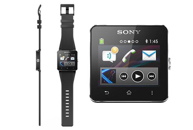 Sony SmartWatch 2 da ogni lato