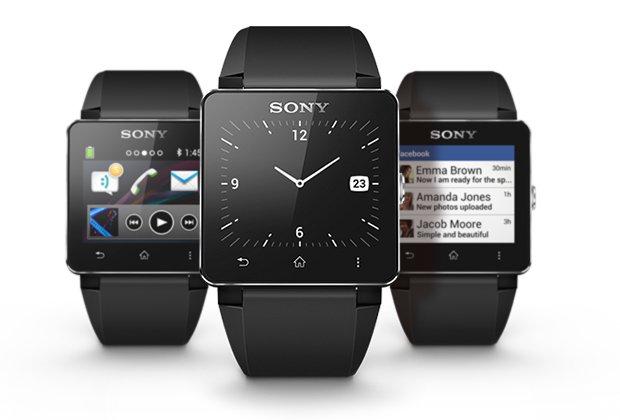 Sony SmartWatch 2, l'interfaccia
