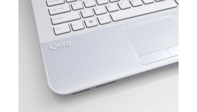 Sony Vaio E white palm rest