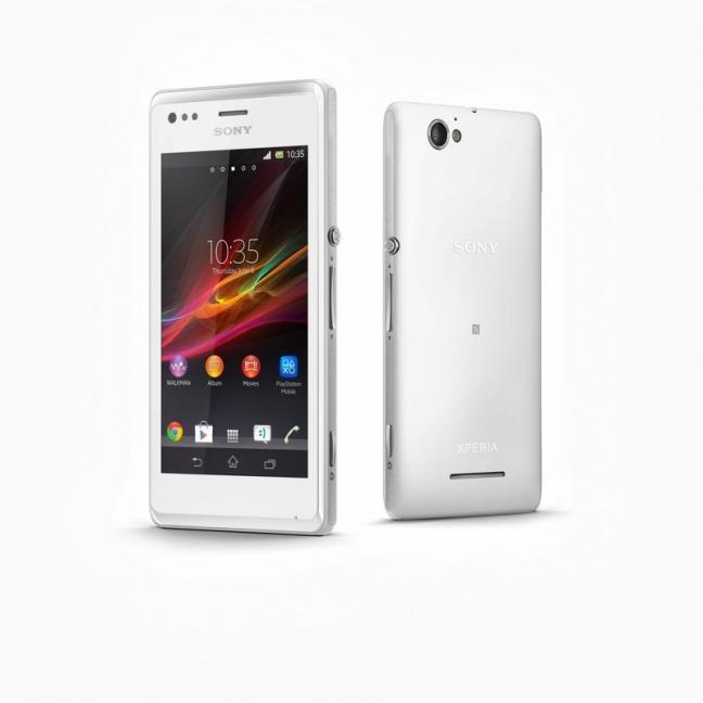 Sony Xperia M, bianco