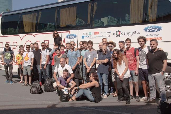 StartupBus 2015 a Zurigo