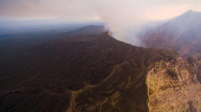I Trekker di Street View nel vulcano di Vanuatu