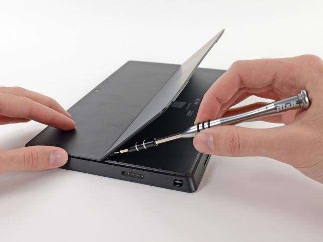 Surface Pro, visto da dentro