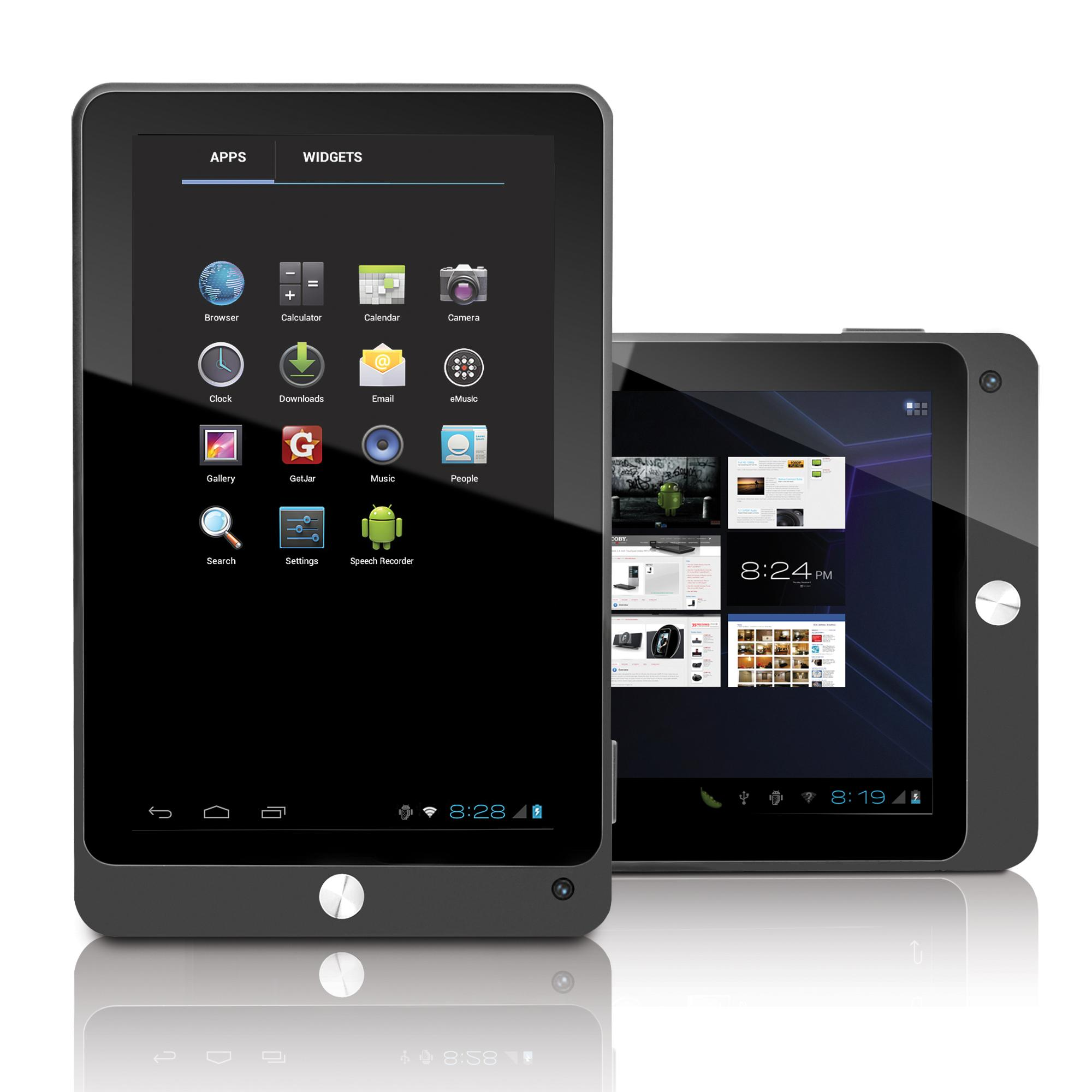 Tablet Coby MID con Android 4.0 ICS