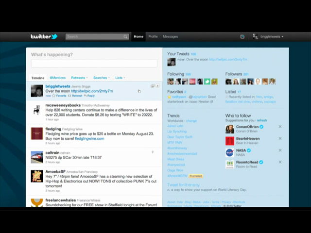 Twitter nuovo layout - Foto 1