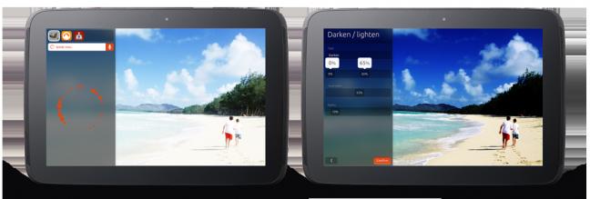 Ubuntu per tablet, controllo vocale