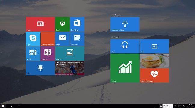 Windows 10 Insider Preview, build 10122