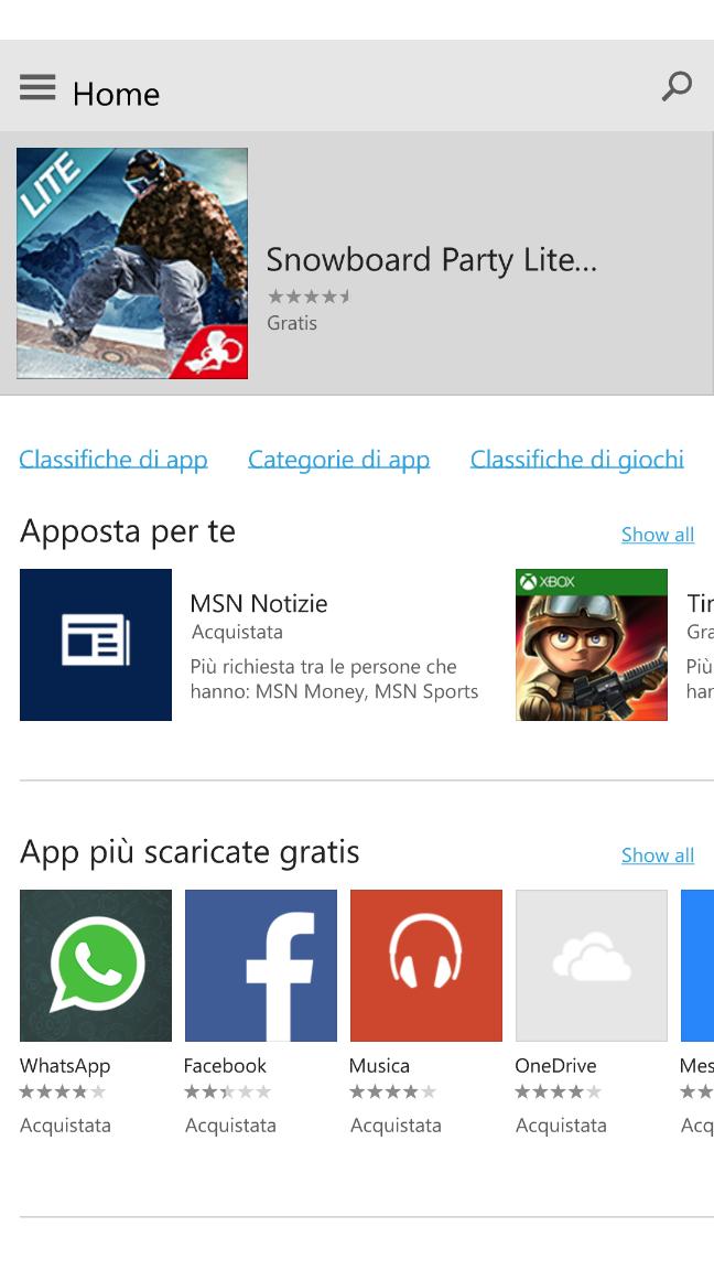 Windows 10 Mobile, build 10080