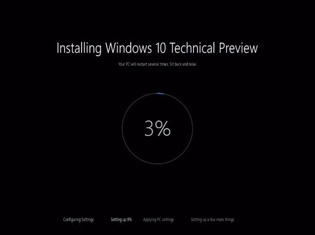 Windows 10 Technical Preview build 10041