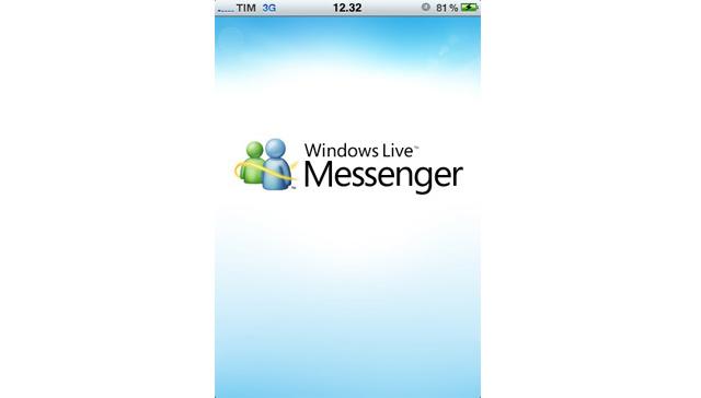 Windows Live Messenger su iPhone - Foto 1