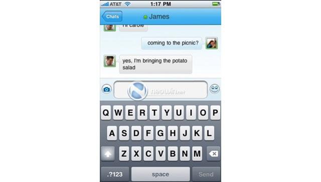Windows Live Messenger per iPhone 5