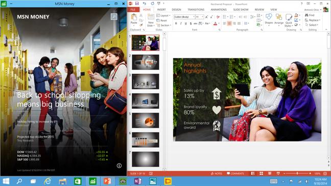 Windows 10: App