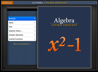 Wolfram Alpha Algebra