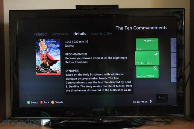 Xbox 360 dashboard 2012