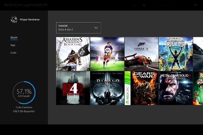 Xbox One con Windows 10