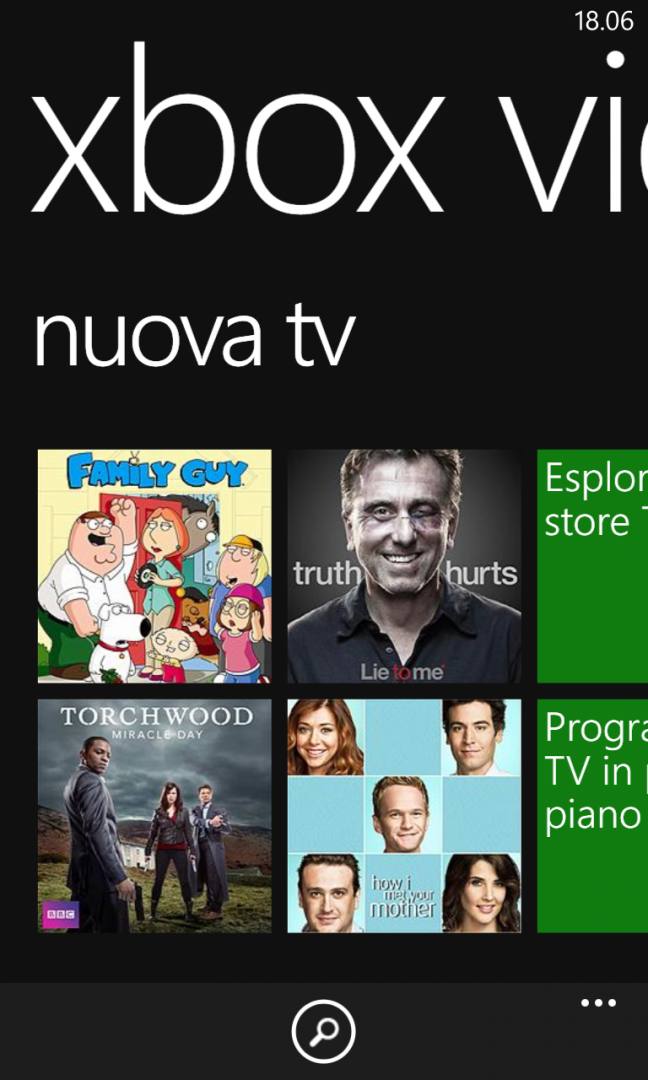 Xbox Video e Music per WP8