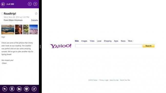 Yahoo Mail per Windows 8, Android e iOS