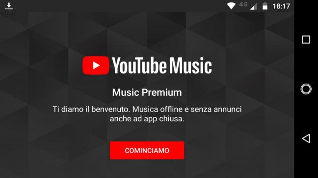 YouTube Music: l'applicazione mobile