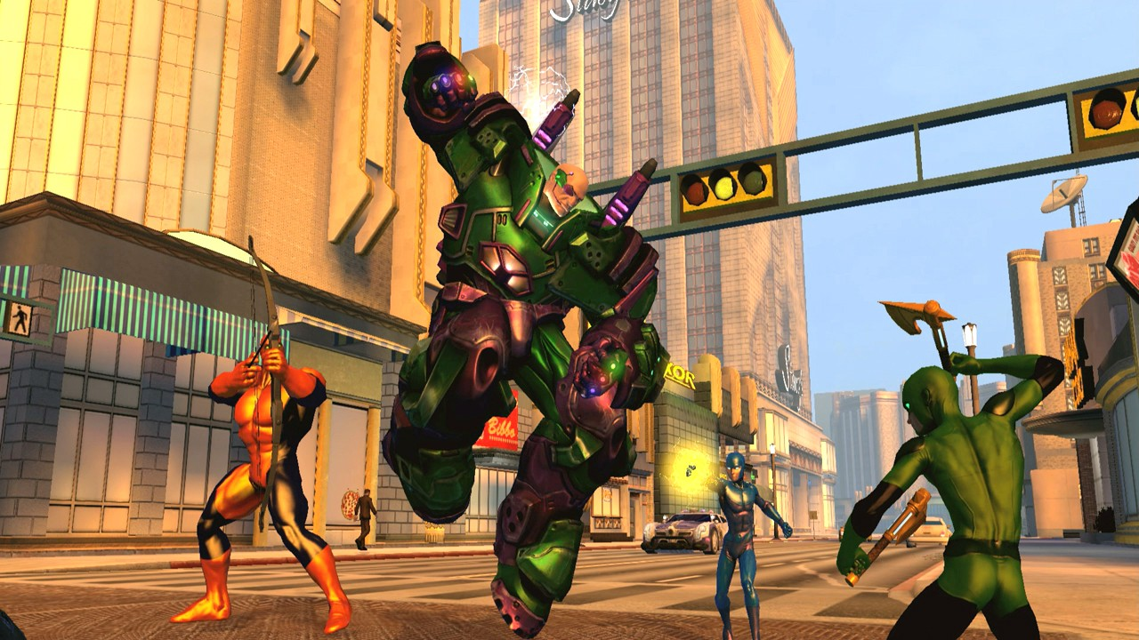 DC Universe Online - Gameplay