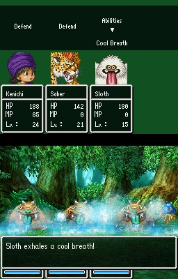 Dragon Quest: The Hand of the Heavenly Bride - Ingame