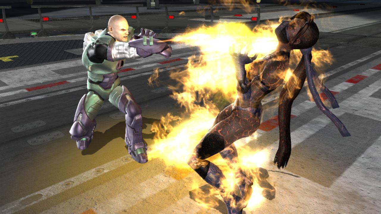 Mortal Kombat VS DC Universe - Combattimenti