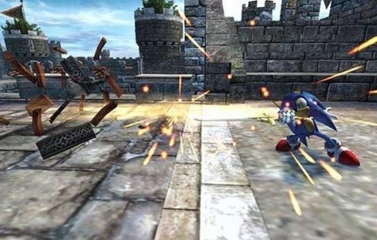 Sonic e il Cavaliere Nero - Gameplay