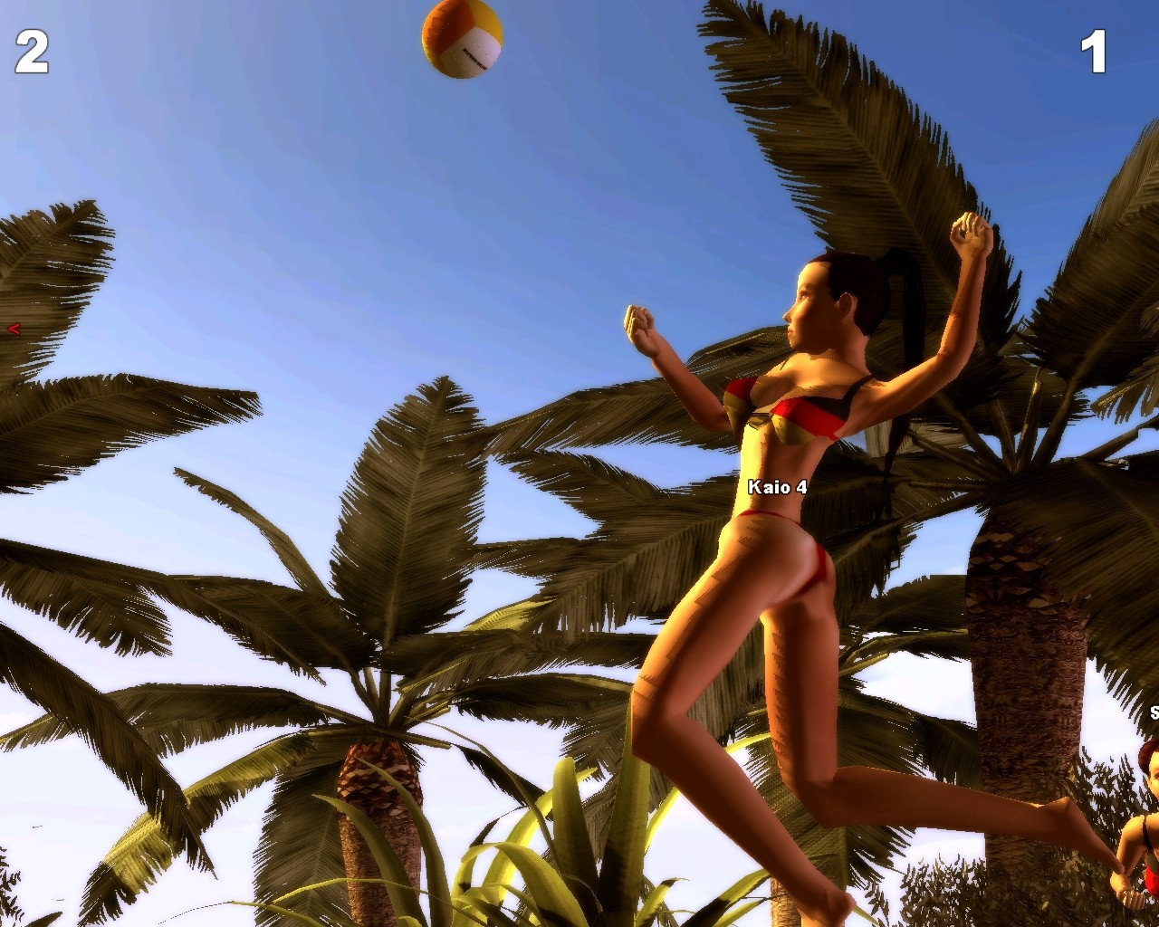 Sunshine Beach Volleyball - Gameplay