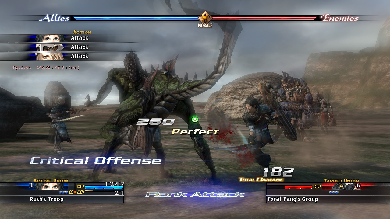 The Last Remnant - Ingame