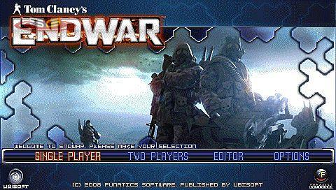 Tom Clancy's EndWar: PSP