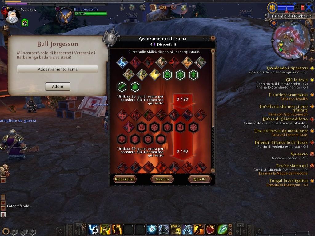 Warhammer Online: Age of Reckoning - Ingame