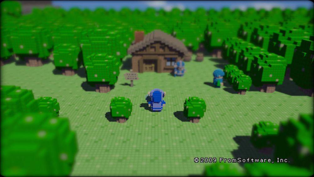 3D Dot Game Heroes - Eroi di mattoncini