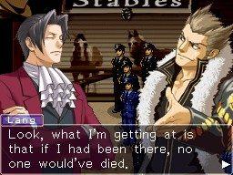 Ace Attorney Inv.: Miles Edgeworth - Gameplay