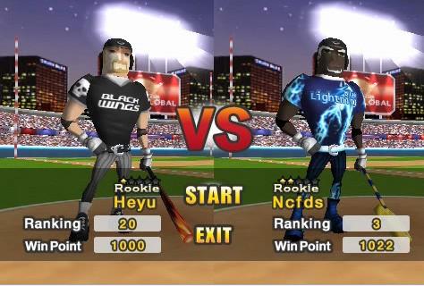 Baseball Slugger: Home Run Race 3D - Ingame