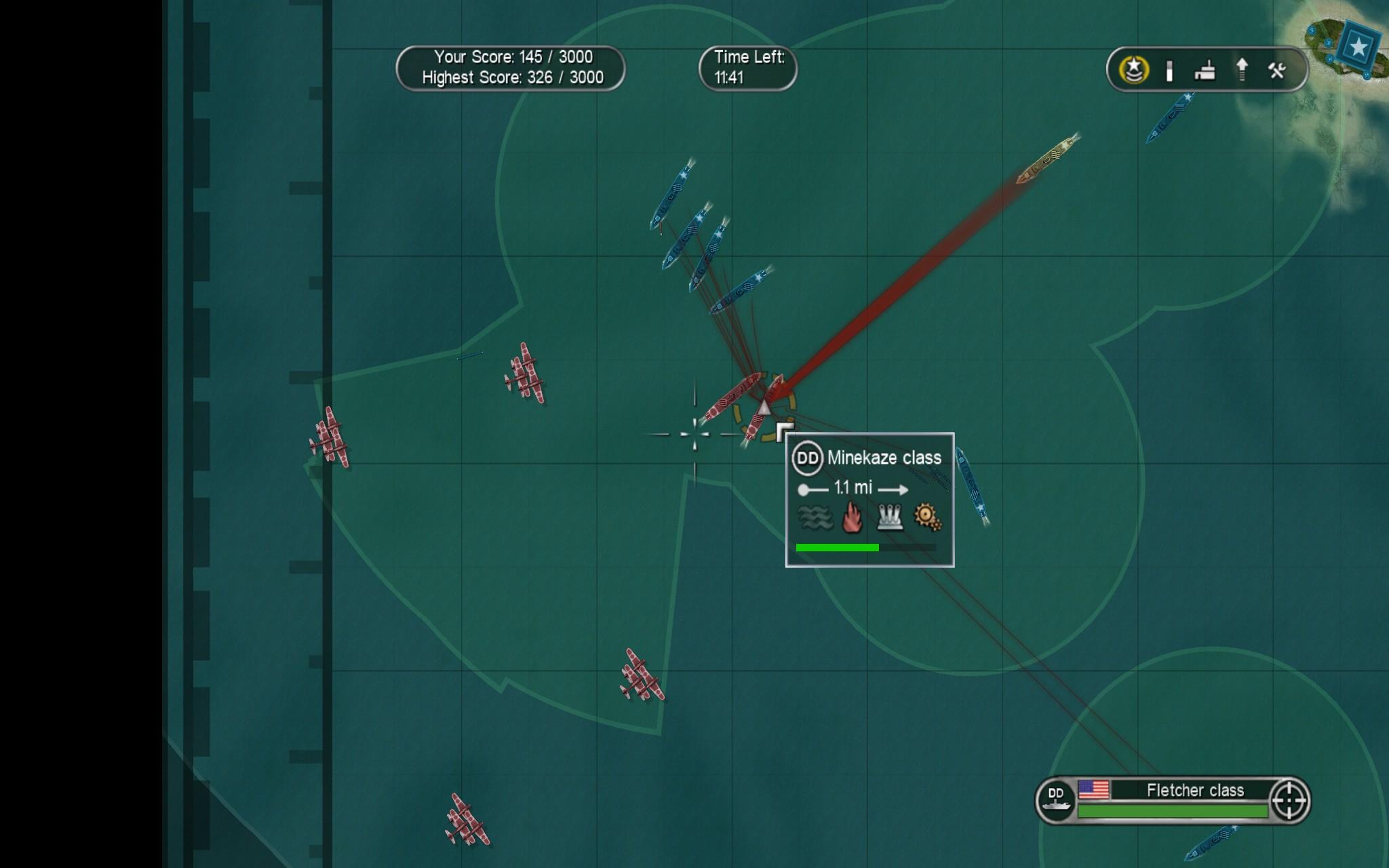 Battlestations: Pacific - Gameplay Screenshot