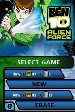 Ben 10 Alien Force - Screenshot