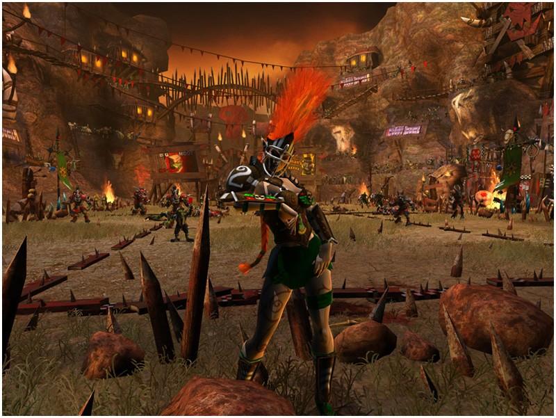 Blood Bowl - Elfi vs Caos