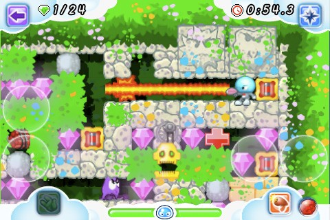 Boulder Dash Rocks - Screenshot