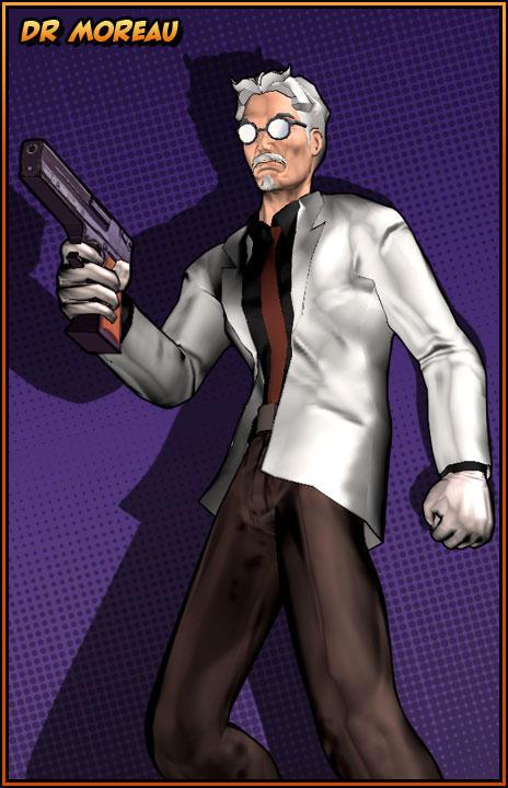 Champions Online - Dr. Moreau