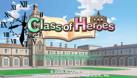Class of Heroes - Ingame