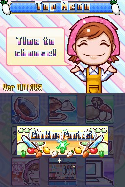 Cooking Mama 3 - Cooking Contest
