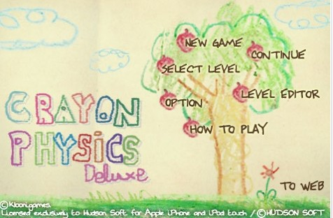 Crayon Physics Deluxe - Screenshot