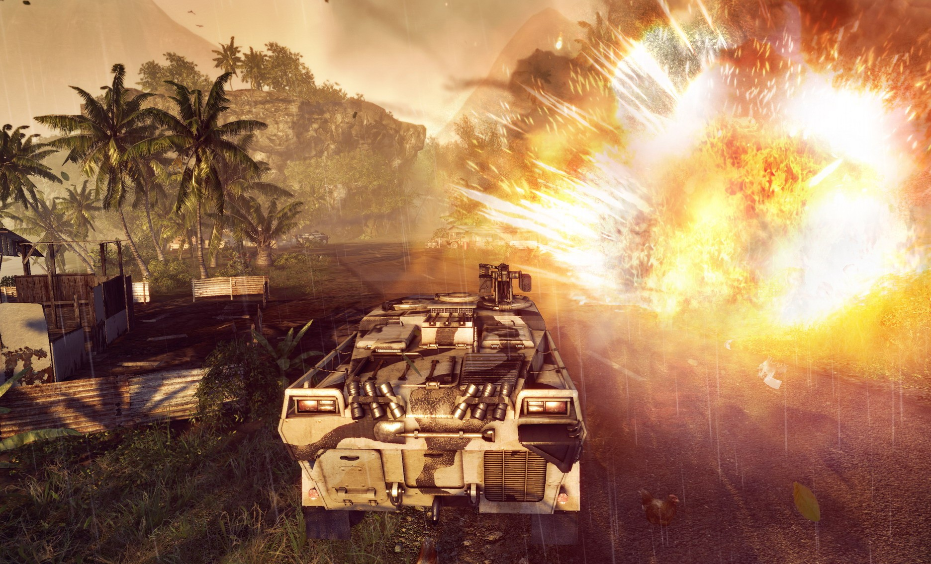 Crysis Warhead - In Game