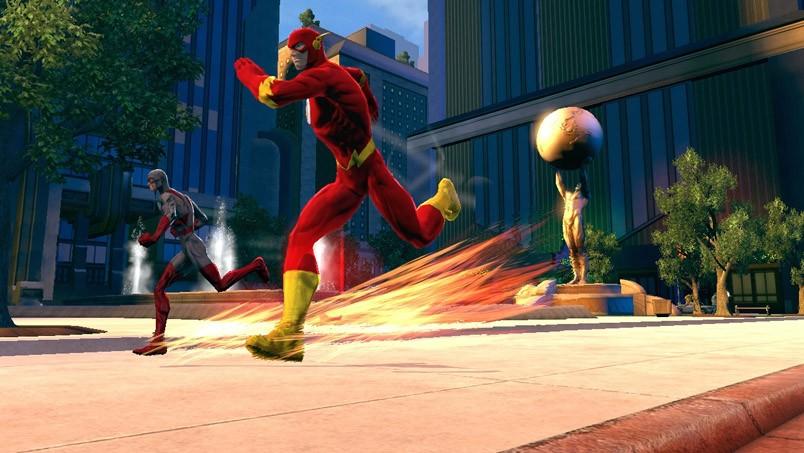 DC Universe Online - Screenshot su Flash
