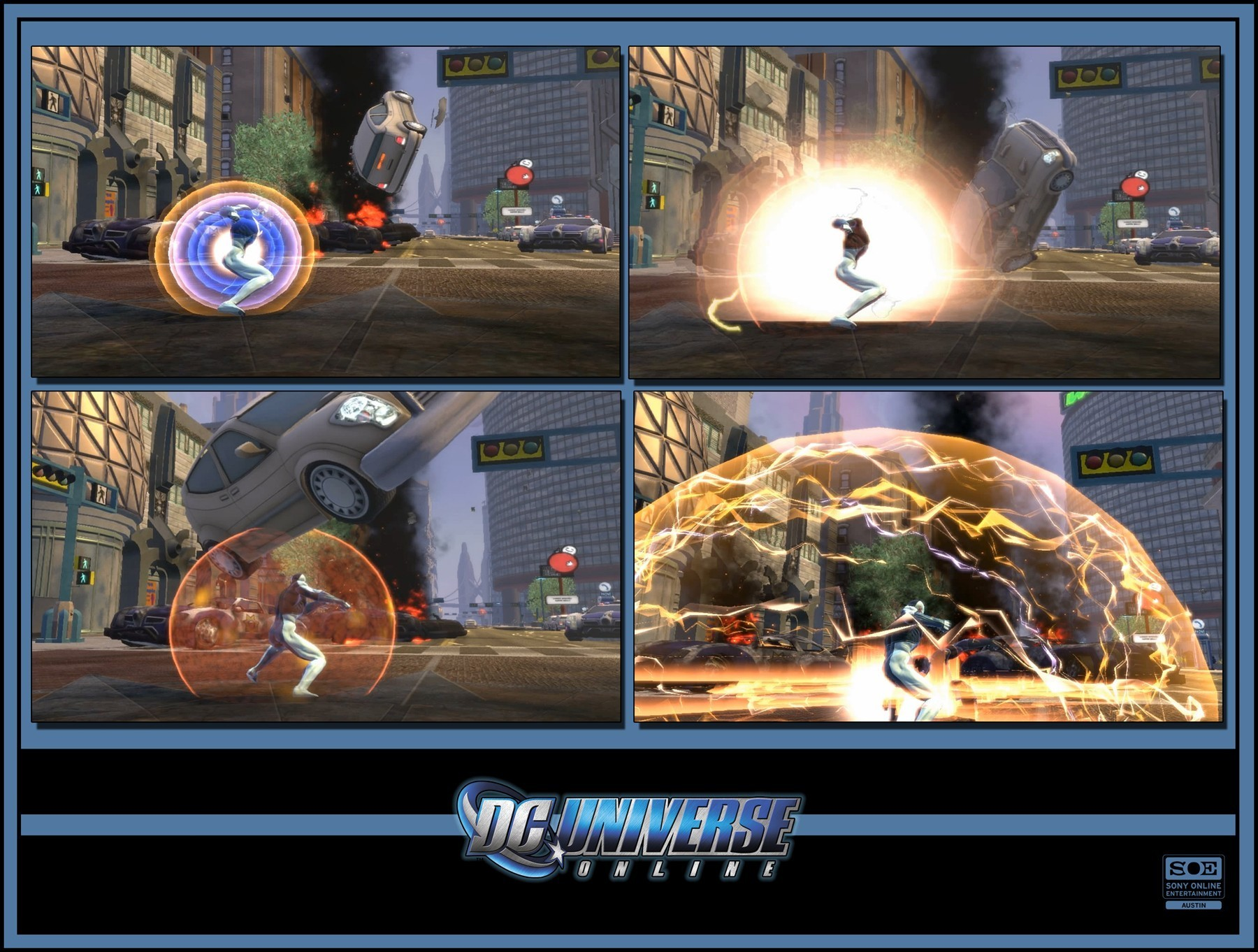 DC Universe Online: nuove immagini ufficiali