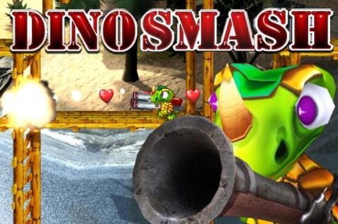 DinoSmash Online - Screenshot