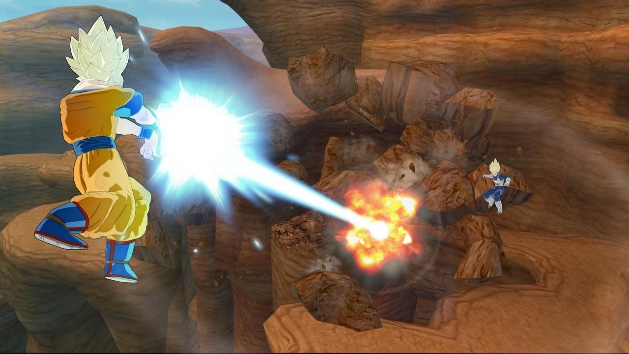 Dragon Ball Z Raging Blast - Screenshot
