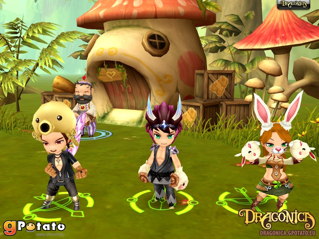 Dragonica - Costumi