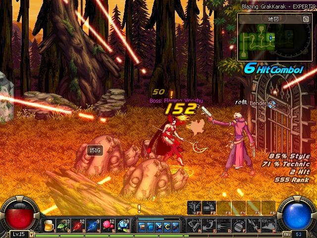 Dungeon Fighter Online - Gameplay