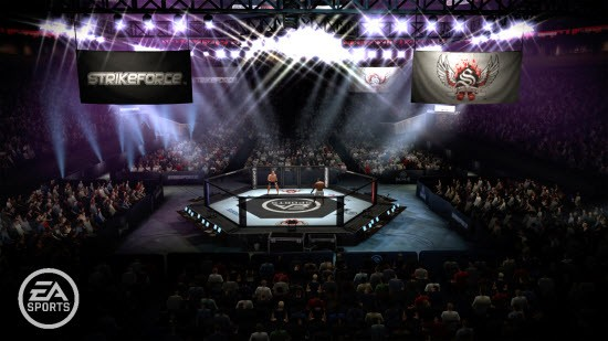 EA Sports MMA - The Ring