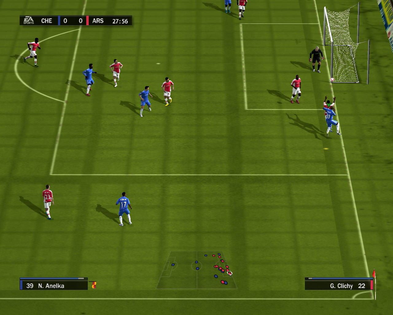 FIFA 10 - Azioni in campo